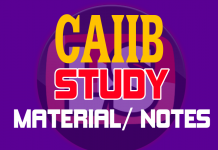 caiib study material pdf learning sessions