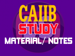 Caiib Study Material PDF Books and E-Notes Mock Tests ...